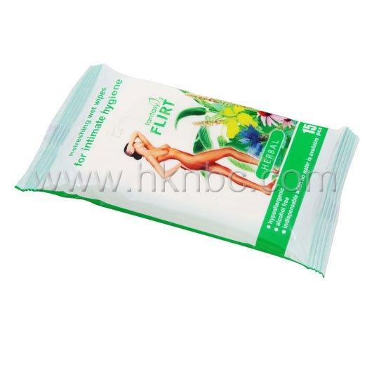 女性私密卫生护理湿巾3