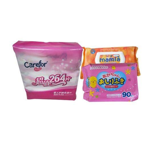 多片装婴儿湿巾